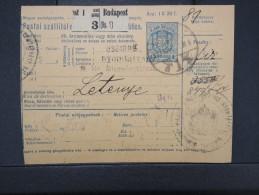 HONGRIE - Détaillons Collection De Bulletins  D Expéditions  - Colis Postaux  - A Voir - Lot N° P5424 - Paketmarken
