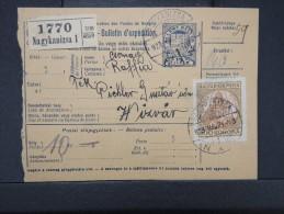 HONGRIE - Détaillons Collection De Bulletins  D Expéditions  - Colis Postaux  - A Voir - Lot N° P5425 - Paketmarken