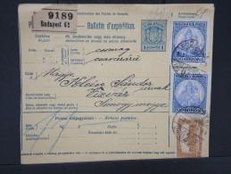 HONGRIE - Détaillons Collection De Bulletins  D Expéditions  - Colis Postaux  - A Voir - Lot N° P5426 - Paketmarken
