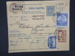 HONGRIE - Détaillons Collection De Bulletins  D Expéditions  - Colis Postaux  - A Voir - Lot N° P5427 - Paketmarken