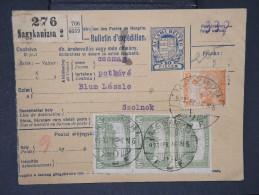 HONGRIE - Détaillons Collection De Bulletins  D Expéditions  - Colis Postaux  - A Voir - Lot N° P5428 - Paketmarken