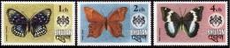 BHOUTAN  1975 - Papillons - NEUFS** - Bhoutan