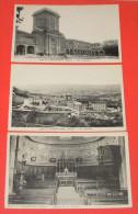 Lot De 3 Cartes Postales : Asile De L'Argentière - Cour Intérieure - Vue Générale - Intérieur De La Chapelle ------ 285 - Other Municipalities