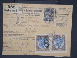 HONGRIE - Détaillons Collection De Bulletins  D Expéditions  - Colis Postaux  - A Voir - Lot N° P5429 - Paketmarken