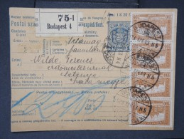 HONGRIE - Détaillons Collection De Bulletins  D Expéditions  - Colis Postaux  - A Voir - Lot N° P5431 - Paketmarken