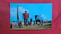 - Minnesota>  Bemidji-- Paul Bunyan &  Babe his Blue Ox 1838