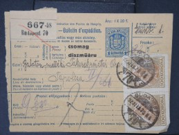 HONGRIE - Détaillons Collection De Bulletins  D Expéditions  - Colis Postaux  - A Voir - Lot N° P5432 - Paketmarken