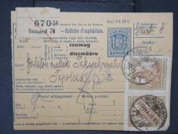 HONGRIE - Détaillons Collection De Bulletins  D Expéditions  - Colis Postaux  - A Voir - Lot N° P5433 - Paketmarken