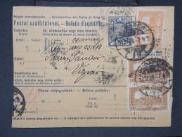 HONGRIE - Détaillons Collection De Bulletins  D Expéditions  - Colis Postaux  - A Voir - Lot N° P5436 - Paketmarken