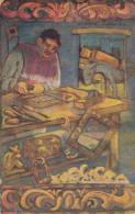 Wood carver , Mexico , PU-1937
