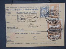 HONGRIE - Détaillons Collection De Bulletins  D Expéditions  - Colis Postaux  - A Voir - Lot N° P5437 - Paketmarken
