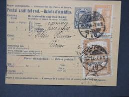 HONGRIE - Détaillons Collection De Bulletins  D Expéditions  - Colis Postaux  - A Voir - Lot N° P5438 - Paketmarken