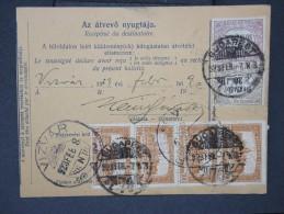 HONGRIE - Détaillons Collection De Bulletins  D Expéditions  - Colis Postaux  - A Voir - Lot N° P5439 - Paketmarken