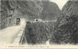 ALGERIE 1375  CPA  Gorges Deu Chabet La Route De  SETIF    à  BOUGIE  Animation  Belle Carte - Sétif