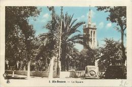 ALGERIE 1399  CPSM Petit Format  AIN BESSEM Le Square     Belle Carte - Algerije