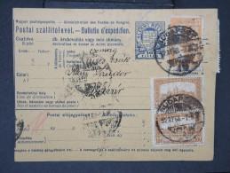 HONGRIE - Détaillons Collection De Bulletins  D Expéditions  - Colis Postaux  - A Voir - Lot N° P5441 - Paketmarken