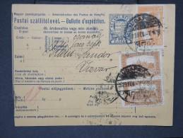 HONGRIE - Détaillons Collection De Bulletins  D Expéditions  - Colis Postaux  - A Voir - Lot N° P5442 - Paketmarken