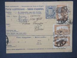HONGRIE - Détaillons Collection De Bulletins  D Expéditions  - Colis Postaux  - A Voir - Lot N° P5443 - Paketmarken