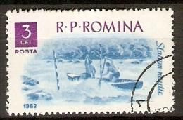 ROUMANIE       -      RAFTING  /  KAYAK      -   Oblitéré - Rafting