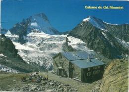 CABANE DU GRAND MOUNTET CAS 2886 SUR ZINAL VAL D ANNIVIERS - VS Valais