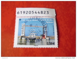 OBLITERATION RONDE  SUR TIMBRE GOMME ORIGINE YVERT N°  4734 - Used Stamps