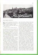 SPELLO 1934 ARTICOLO RITAGLIATO DA GIORNALE - Immagine Tagliata