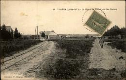 44 - THARON-PLAGE - Ligne De Chemins De Fer - Tharon-Plage