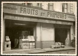 BORDEAUX Boutique MOLINIE Fruits Et Primeurs Place Maucaillou? Capucins St Michel - Lieux
