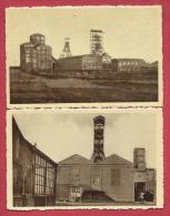 Bray ( Binche ) -Le Charbonnage De La Société D'Outrée-Marihaye - 2 Cartes Postales ( Voir Verso ) - Mines