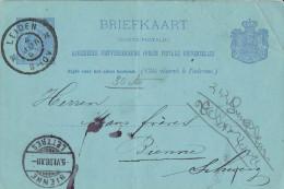 Niederlande / Netherland  - Postkarte Echt Gelaufen / Postcard Used (Y730) - Postal Stationery