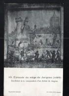 45, JARGEAU, EPISODE DU SIEGE DE JARGEAU,  2 SCANS - Jargeau
