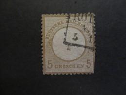 Deutsches Reich 1872 / Adler Mit Grossem Brustschild  / Wertangabe In Groschen - Deutschland