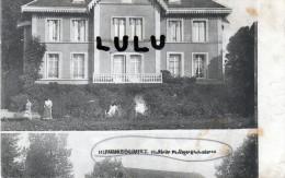 DEPT 52 : RARETE D Imprimerie :Humbercourt ;  Villa En Haut A Identifier  En Bas Halte Au Passage A Niveau - Frankreich