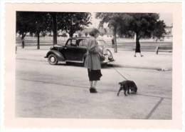 Photo Automobile à Identifier, Femme & Chien - Automobiles