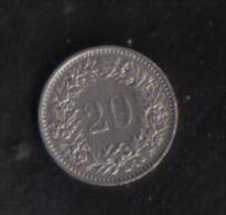 SWITZERLAND  -  20 RAPPEN  1939B - Switzerland