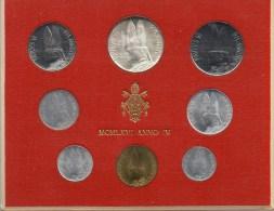 PIA - VATICANO - 1966 : Serie Monete Anno IV°Pontificato Di  Paolo VI - 100.000  Serie - Vaticano
