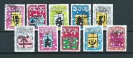 2009 Netherlands Complete Set Kerst,noël,weihnachten,christmas Used/gebruikt/oblitere - Periode 1980-... (Beatrix)