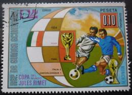 Guinée équatoriale COUPE DU MONDE De FOOTBALL 1974 Oblitéré - Coppa Del Mondo