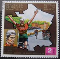 Guinée équatoriale TOUR De FRANCE 1972 Oblitéré - Ciclismo