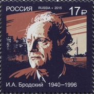 2015 1v Russia Russland Russie Nobel Laureat Poet Joseph Brodsky Mi 2170 MNH ** - Ecrivains