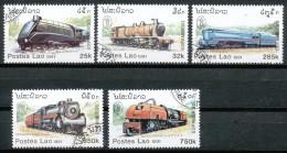 LAOS - Mi.Nr.    1270 - 1274    - Gestempelt - Laos