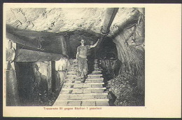 CPA-266-. CARTE Peu Courante, Traversée 51 Du Tunnel De Simplon ( Iselle-Brigue) - Alessandria