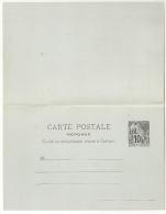 COLONIES POSTES Carte Postale Avec Réponse Neuve Et Superbe.