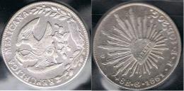 MEXICO 8 REALES GUANAJUATO 1861 PLATA SILVER - Mexico