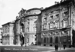 """03417 """"TORINO - PIAZZA E PALAZZO CARIGNANO"""". FOTOGRAFIA ORIGINALE. - Palazzo Carignano"""