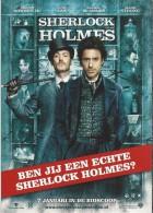 NL.- Boomerang Kaart - Sherlock Holmes. Ben Jij Een Echte Sherlock Holmes. - Affiches Sur Carte