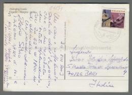 C1131 Switzerland Postal History 2000 HELVETIA 120 SUMMER WINTER SWINGING COWS ENGADIN MARGNA ISOLA (tur) - Storia Postale