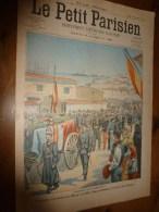 1903 LE PETIT PARISIEN: Gravures :Cérémonie Franco-espagnole (Tranfert Des Cendres Des Soldats De L'ile Roy ,Baléares) - Journaux - Quotidiens