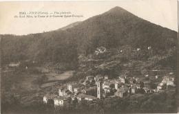 D/20 ¤ CORSE. - VICO  Vue Générale, Au Fond Néza, La Cuma Et Le Couvent St-François. - Frankreich