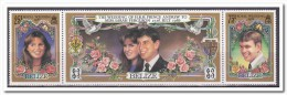 Belize 1986, Postfris MNH, Royal Wedding, Flowers, Roses - Belize (1973-...)